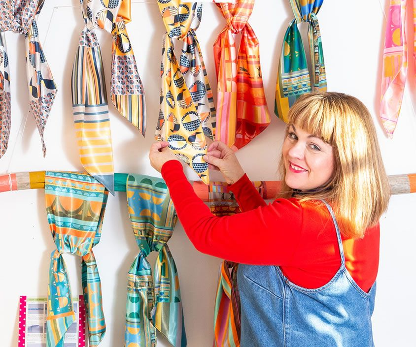 Claire Christie, designer and tutor, Clarabella Christie